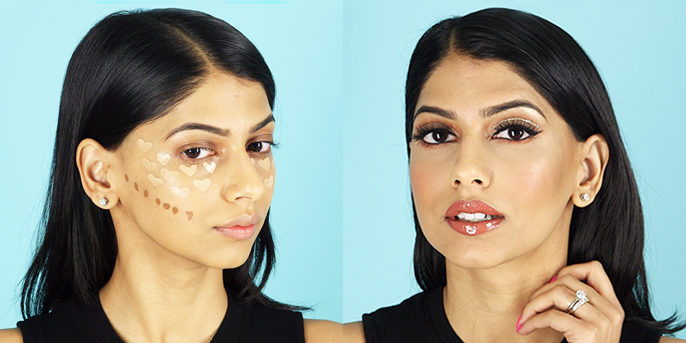 You Have to See the Insane Glow You Get From This Magical Heart Contouring How-To