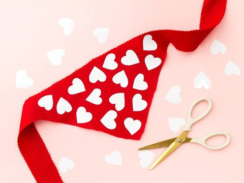 Dog Scarf - DIY Valentine's Day Gifts
