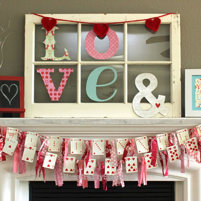 21 easy diy valentine's day decorations that aren't cheesy