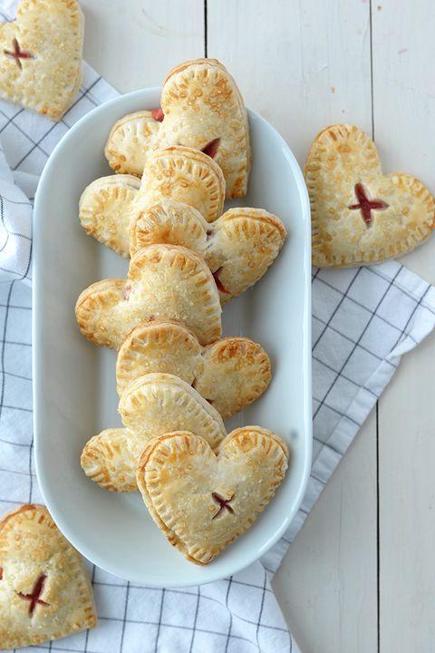 heart hand pie recipe - heart shaped foods