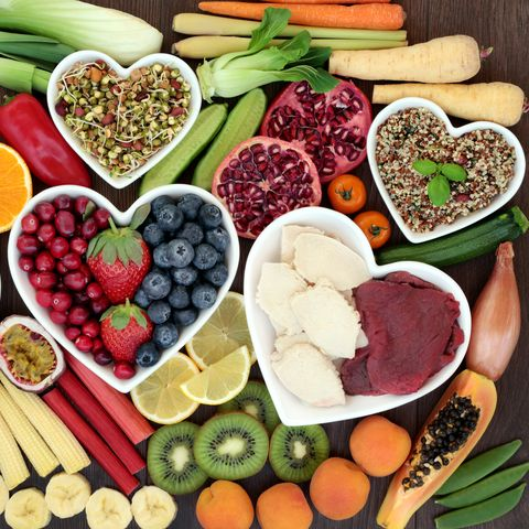 High-fat, sugary and salt-laden foods can contribute to weight-gain, blood pressure and cholesterol levels – all risk factors for heart disease.