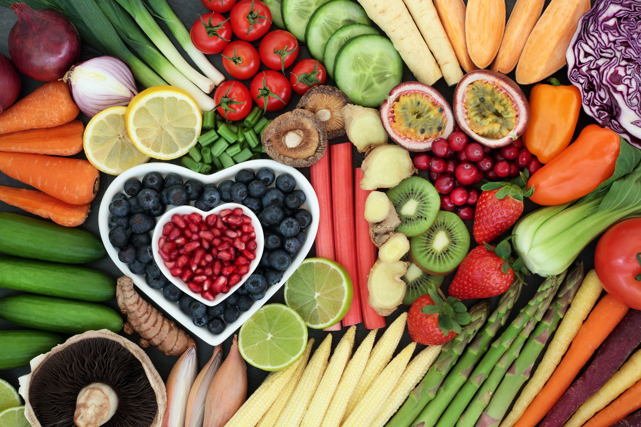 foods for heart healthy diet