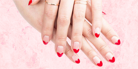 Nail Art How To Heart Tips