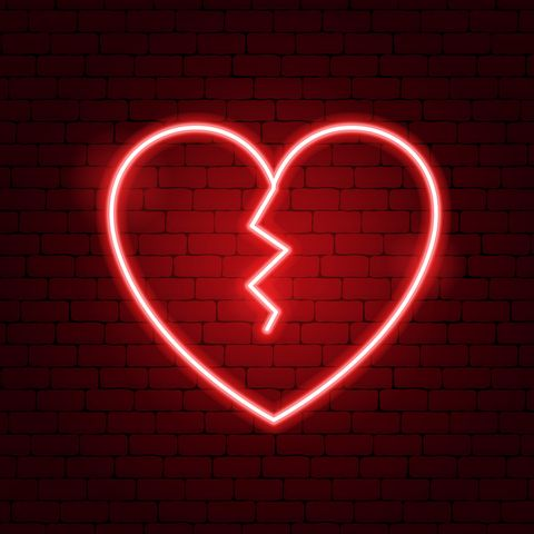 Red, Heart, Love, Organ, Neon, Human body, Heart, Symbol,