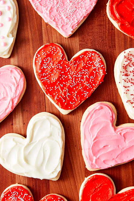easy biscuit recipes   heart cookies