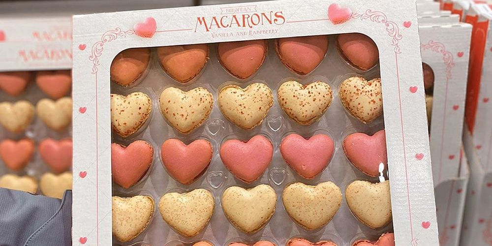 These Heart-Shaped Macarons Will Get You in Your Valentine's Day Feels at Costco