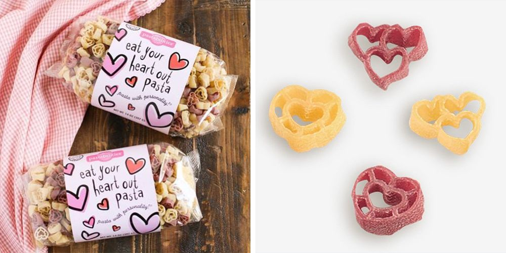 You Can Get Heart-Shaped Pasta on Amazon for a Carb-Filled Valentine's Day