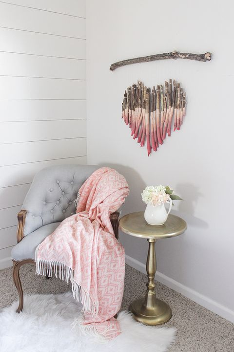 Heart Wall Art Valentines Day Crafts