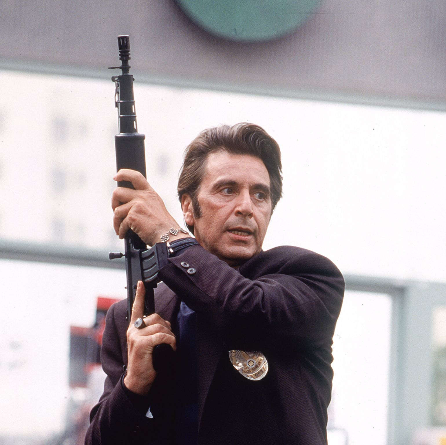 Heat Michael Mann's crime drama set the standard for the genre with its white-knuckle thrills and set pieces, and it brought together Al Pacino and Robert De Niro as two men on opposite sides of the law.