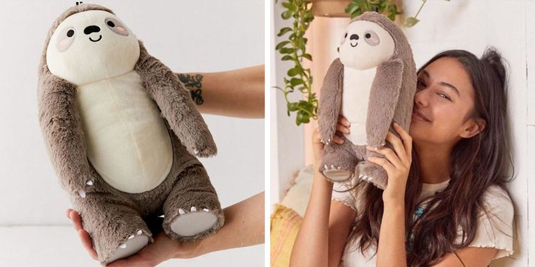 This Heatable Plush Sloth Will Keep You Warm Through The Colder Months