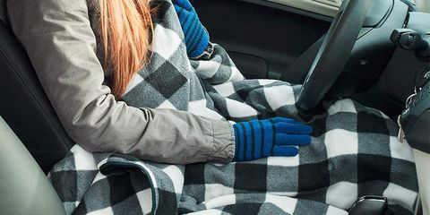 This Heated Blanket Plugs Into Your Car For Super Warm Rides