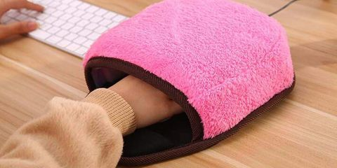 This Heated Mouse Pad Cocoon Will Save You From Your Arctic-Tundra Office