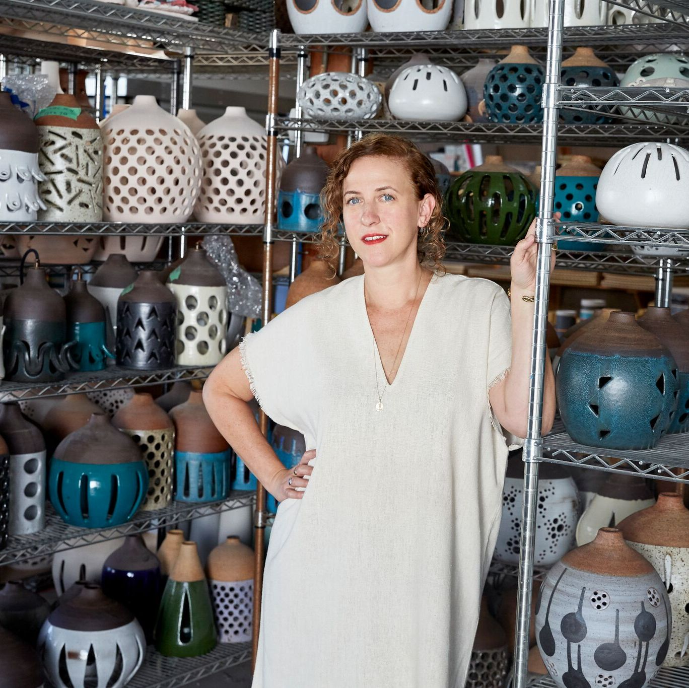 Here's How Ceramicist Heather Levine Creates Her Celeb-Favorite Wall Hangings