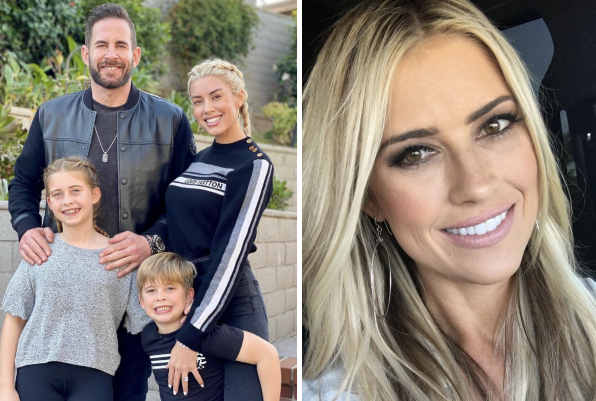 Heather Rae Young On Co Parenting With Christina Anstead