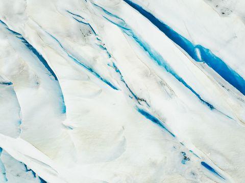 White, Blue, Aqua, Turquoise, Glacial landform, Geological phenomenon, Glacier,