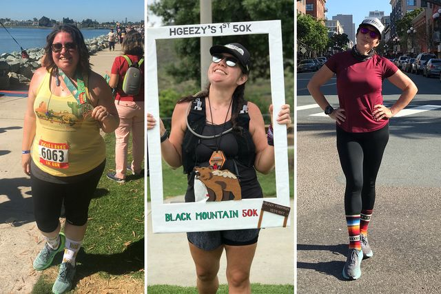 heather gomez lost 120 pounds through running and changing her diet