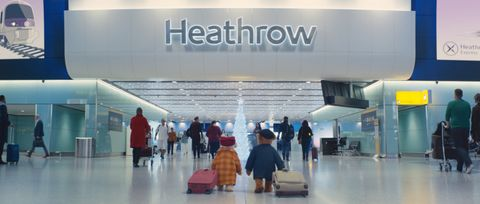 Heathrow Christmas advert 2018