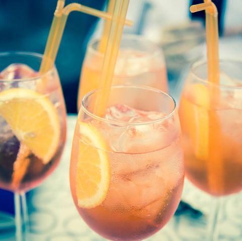 Bank holiday, heatwave, aperol spritz