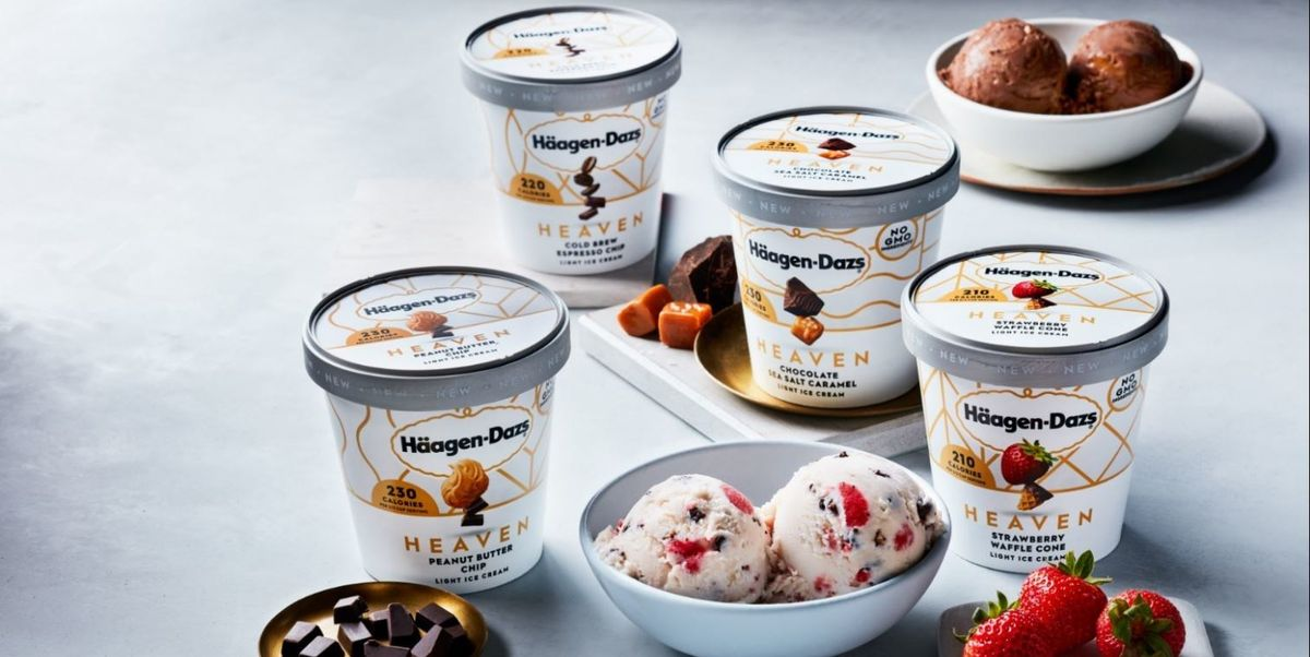 The New Heaven Pints From Häagen-Dazs Have The Decadent Ice Cream You Expect With Fewer Calories