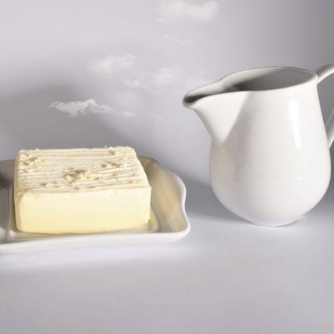 heavy cream substitute milk and butter dish creamer jug