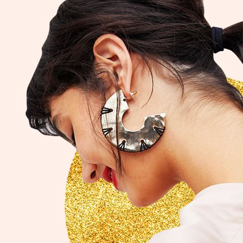 Image result for heavy earrings