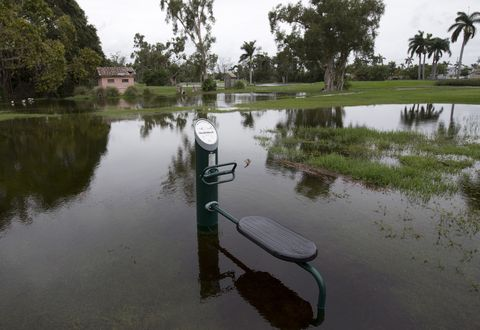 Heavy rainfall in the Southeast ahead of Subtropical Storm Alberto