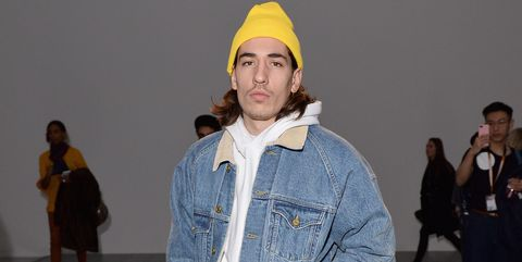Hector Bellerin moda LFWM looks