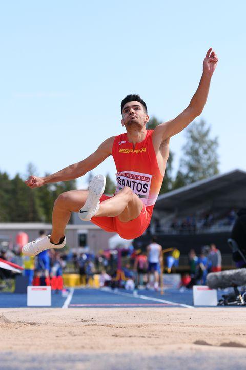 Héctor Santos, plata en longitud en los Europeos sub-23 de Gavle 2019