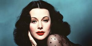 Austro-American actress Hedy Lamarr