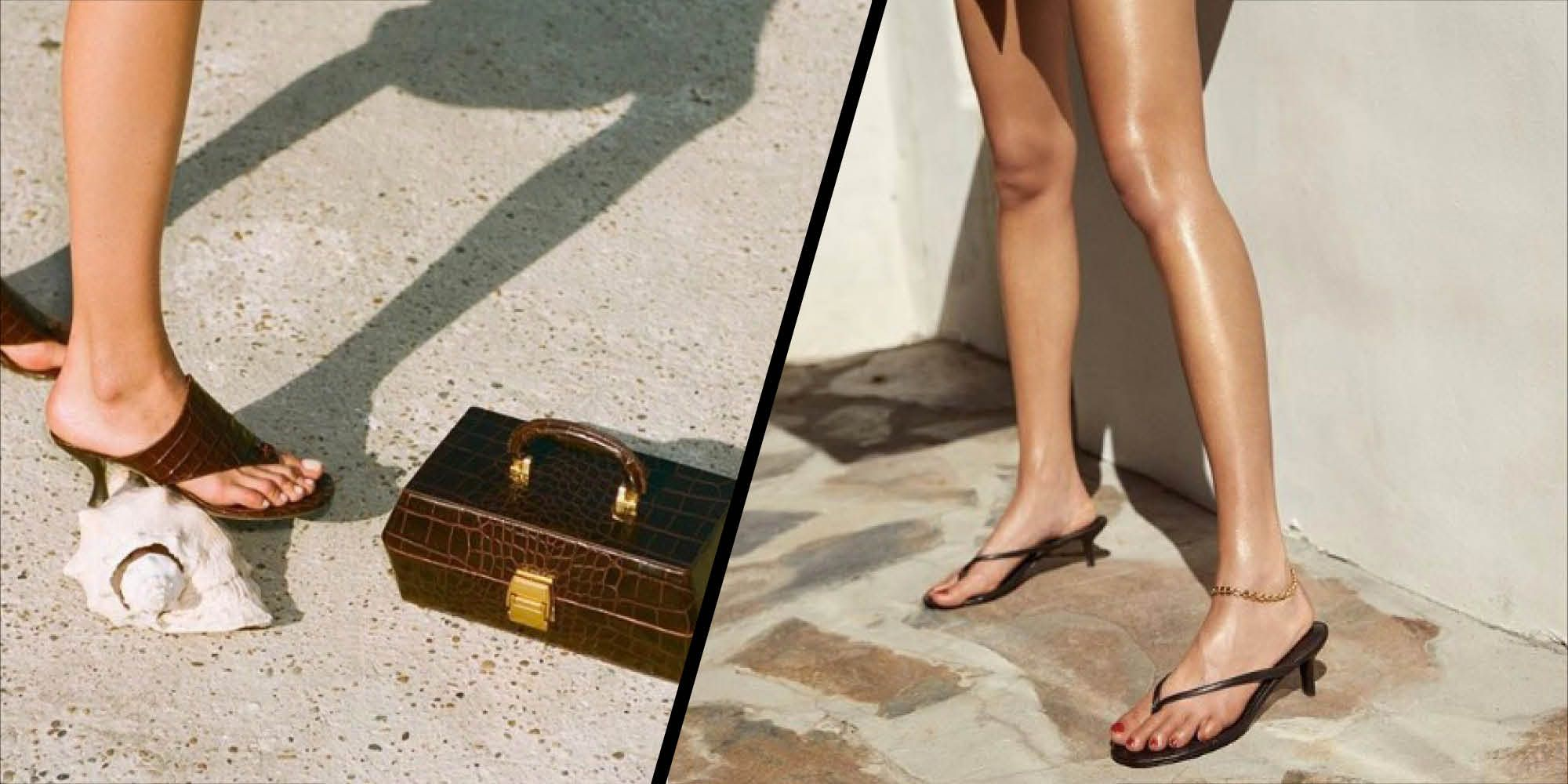 Introducing the kit-flop: This summer's favourite sandal