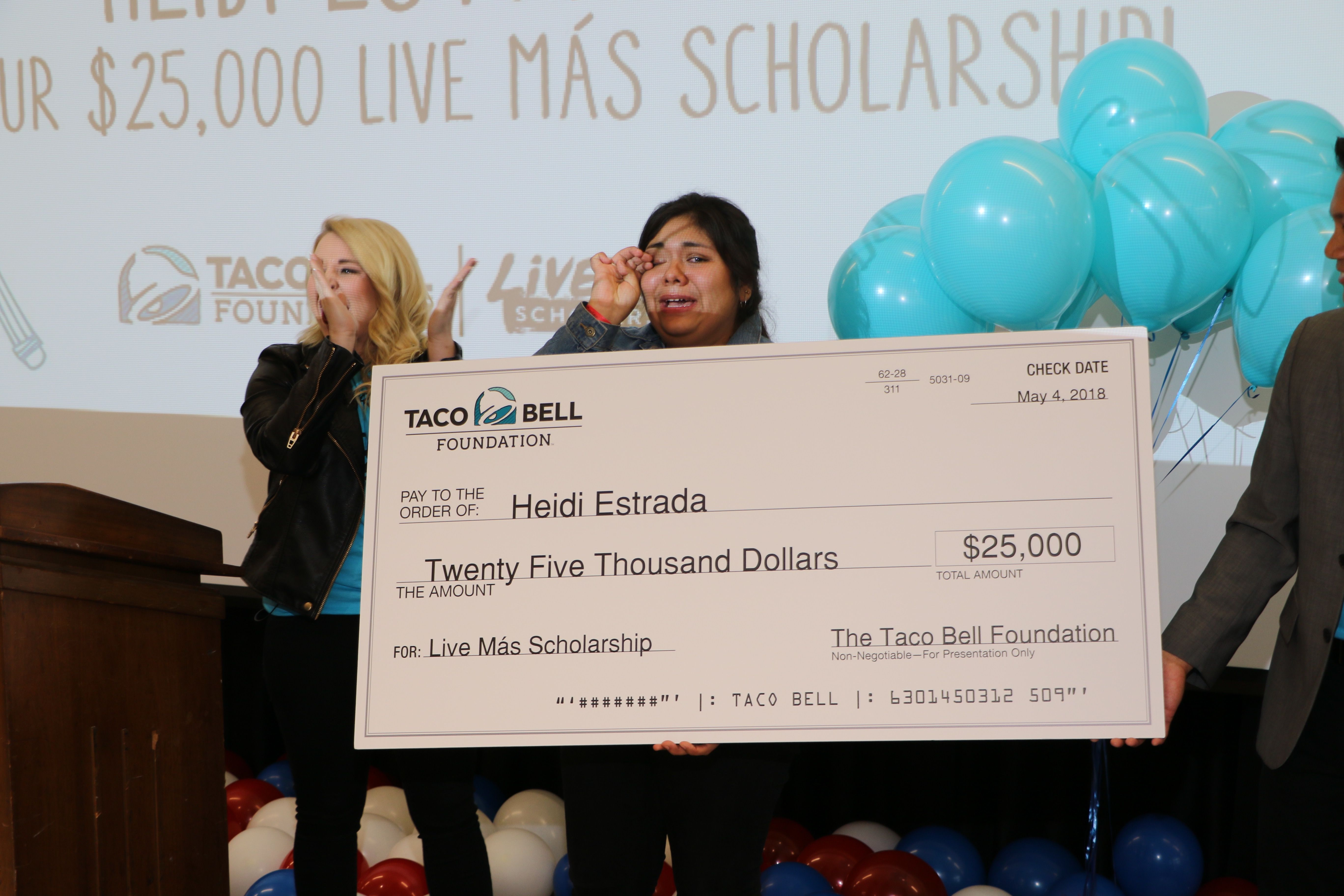 Taco Bell's Live Más Scholarship Will Give Out $4 Million In College Aid This Year