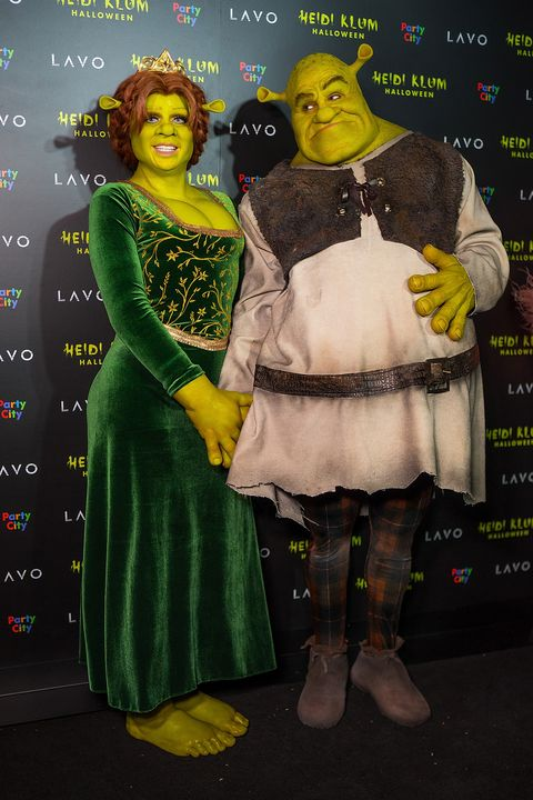 Heidi Klum S 2018 Halloween Costume Was Fiona From Shrek