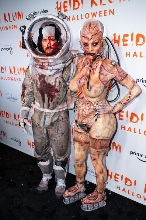 Hide Klum Halloween 2020 Heidi Klum Craziest Halloween Costumes from 2000 to 2019   Best