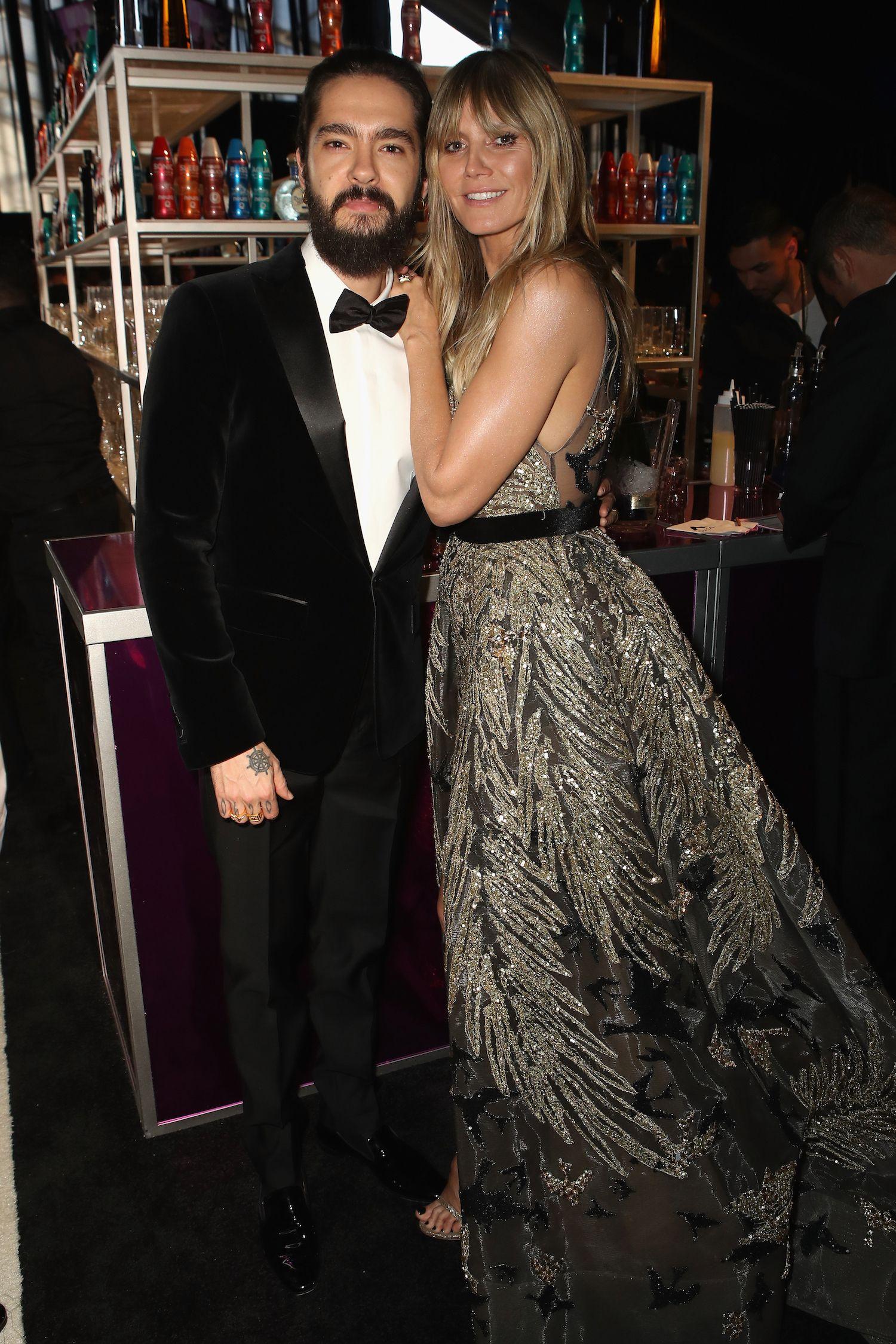 Heidi Klum and Tom Kaulitz Heidi Klum and Tom Kaulitz attend the 27th annual Elton John AIDS Foundation Academy Awards viewing party celebrating EJAF and the 91st annual Academy Awards on February 24.
