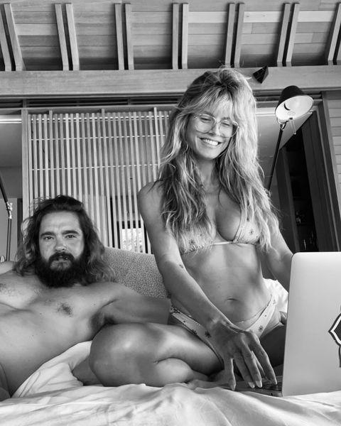 Klum nude heidi nackt Heidi Klum
