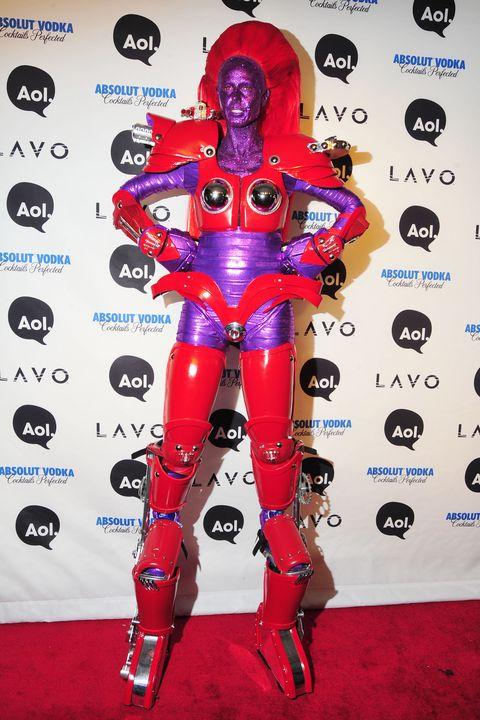 Heidi Klum Craziest Halloween Costumes From 2000 To 2019 -2686
