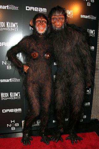 Heidi Klum Monkey Halloween Costume.Heidi Klum S Craziest Halloween Costumes From 2000 To 2021 Best Heidi Klum Costumes