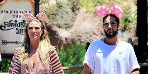 Heidi Klum y su novio Tom Kaulitz