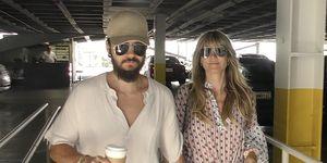 Heidi Klum y Tom Kaulitz pasean por Los Ángeles