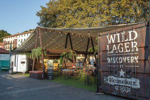 Wild Lager Discovery by Heineken en Bilbao