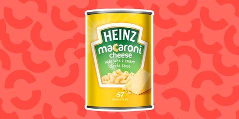 Heinz macaroni cheese can best 2019