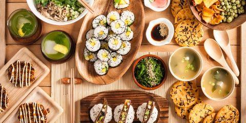 Vegan-recept-sushi
