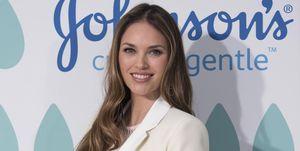 Helen Lindes embarazada de su segunda hija