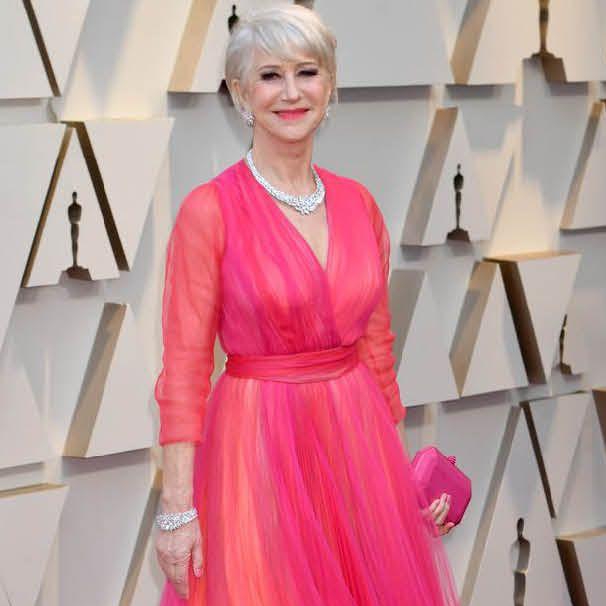 Helen Mirren Oscars dresses