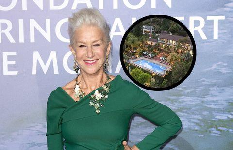 helen mirren, así es la casa que vende por 15 millones de euros en hollywood hills