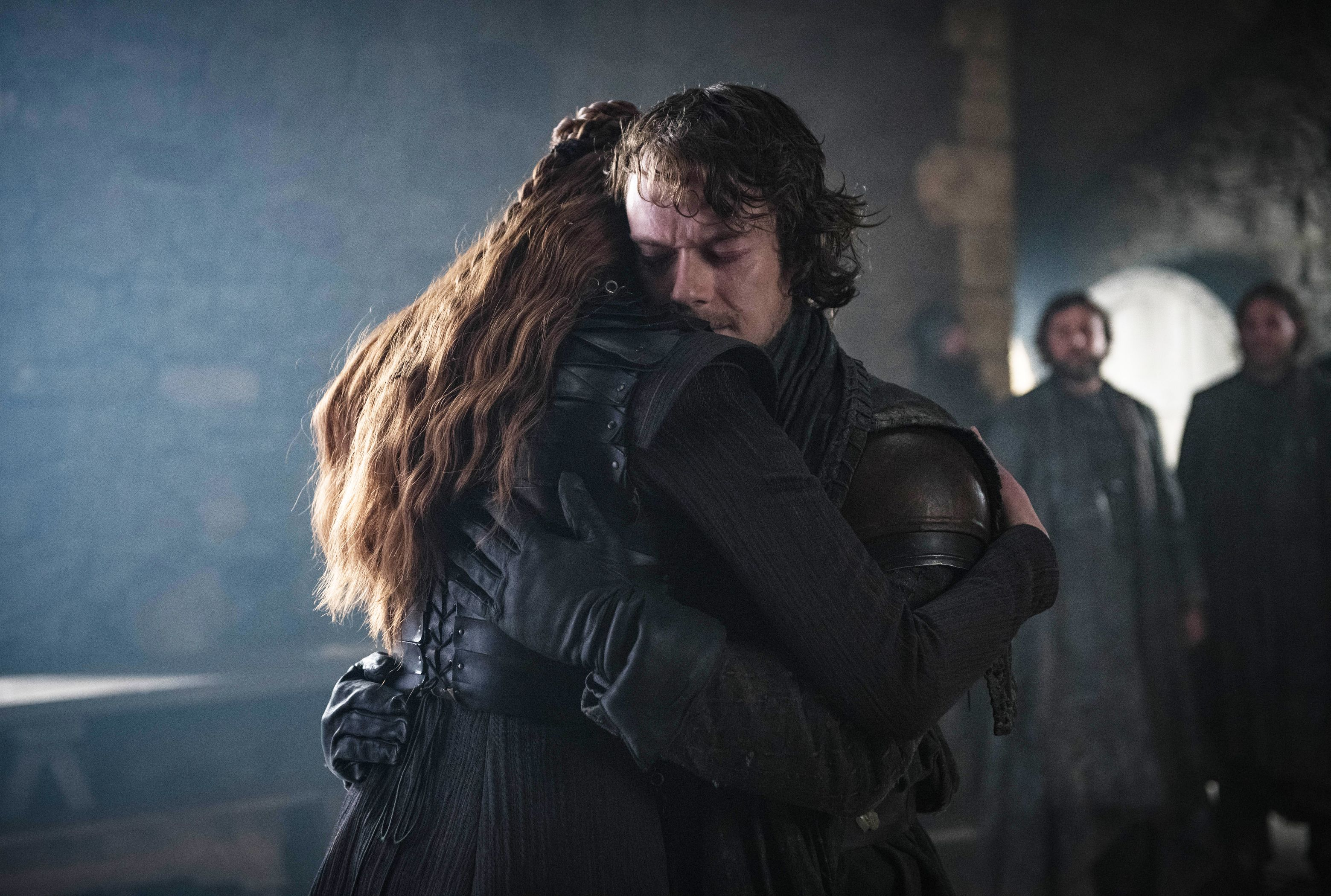 Image result for sansa and theon