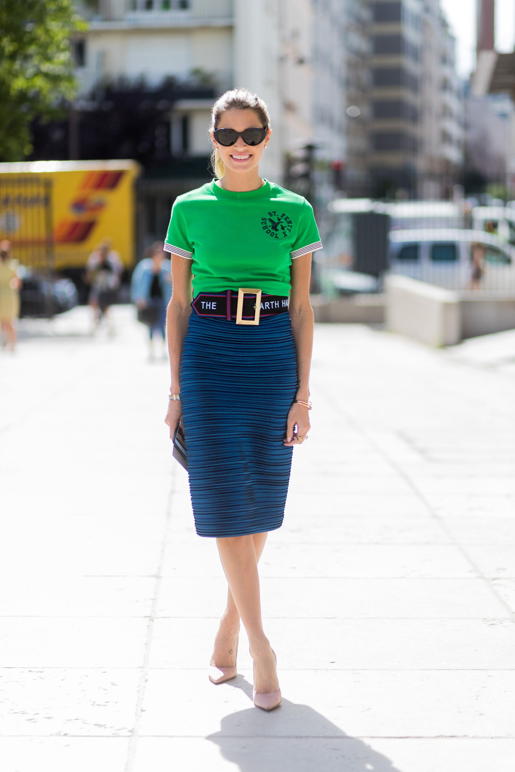 3a8616516a How to style your pencil skirt now: 10 new ideas