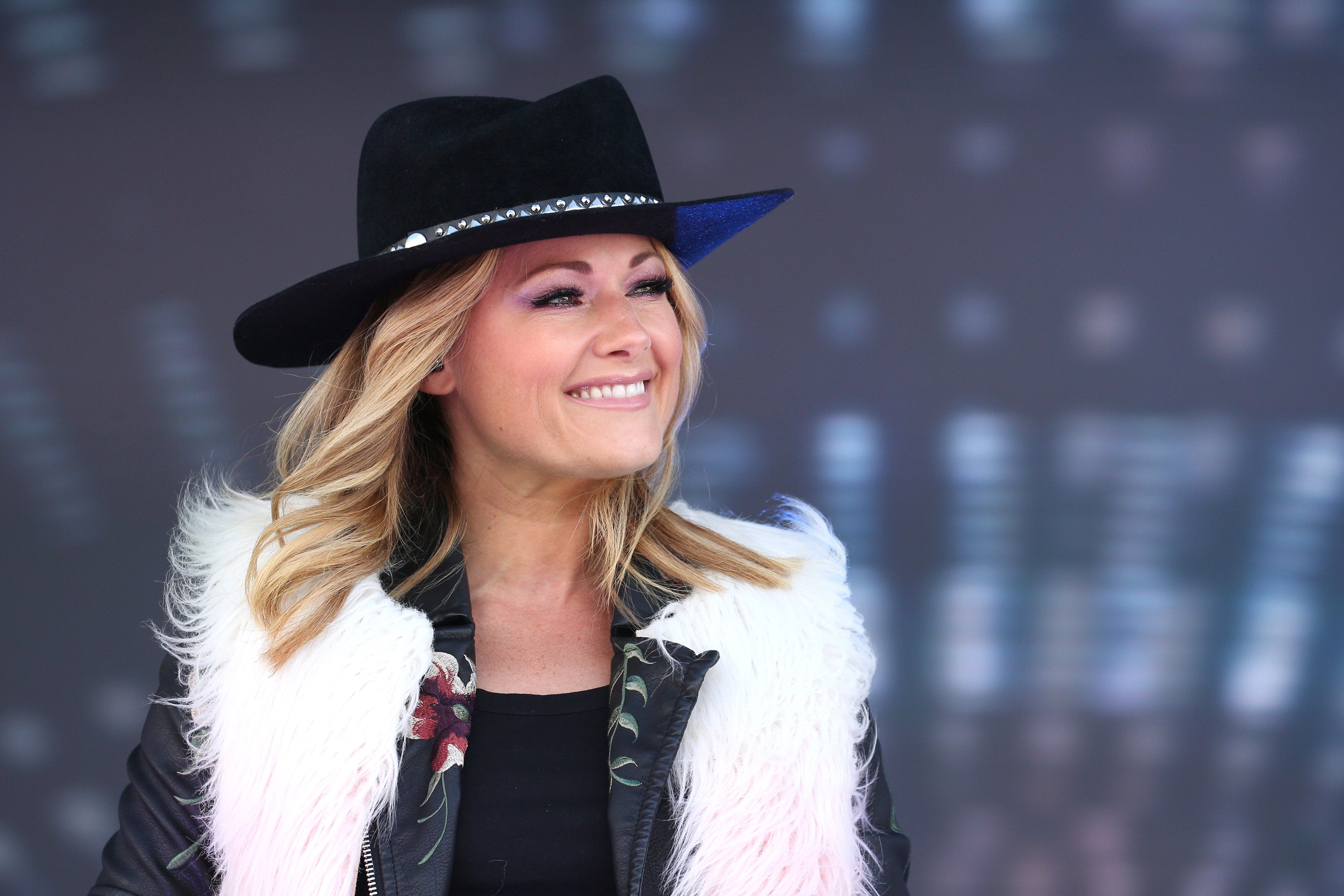 Helene Fischer Performs At The Top Of The Mountain Concert ヘレーネ・フィッシャー