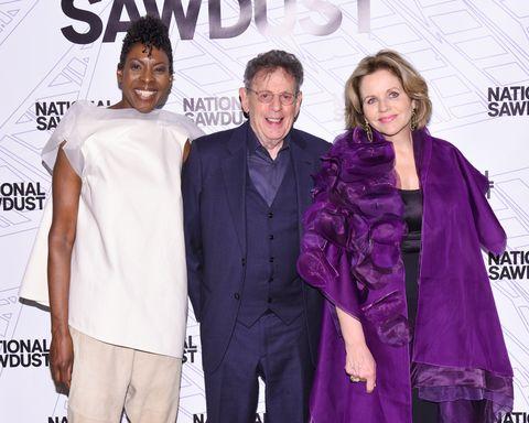 Helga Davis, Philip Glass, Renee Fleming