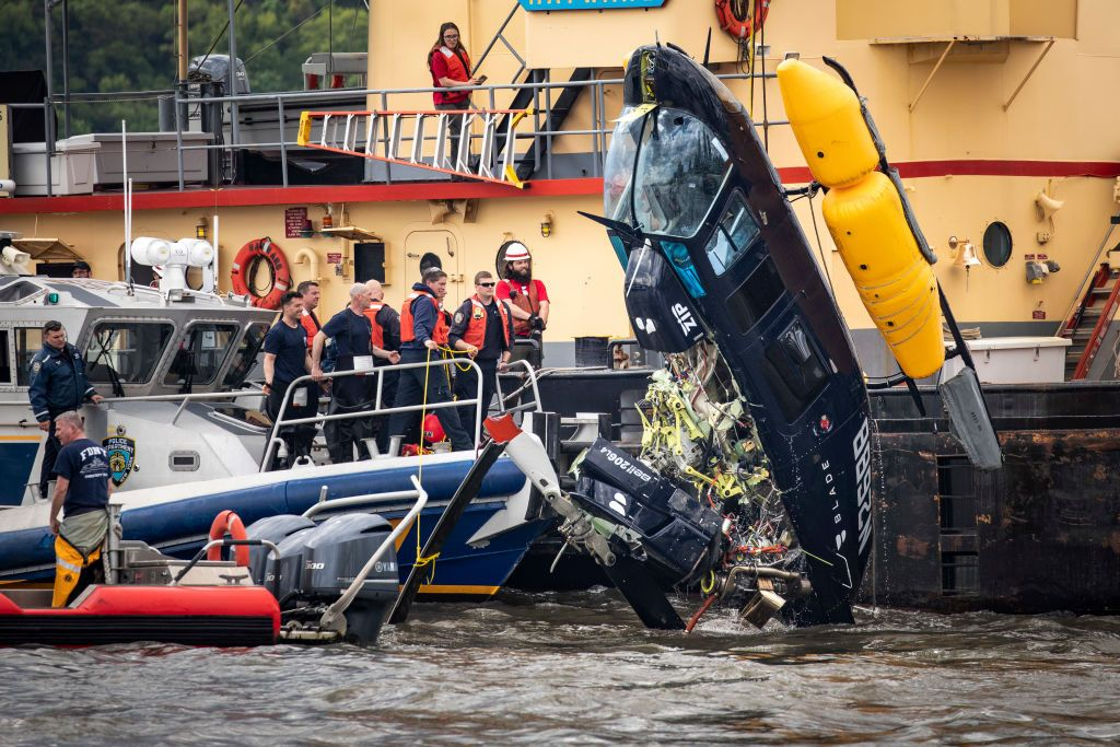 An 'Uber for Helicopters' Just Crashed Into the Hudson River